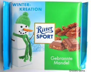 Review: Ritter Sport Winter 2013 - Caramelised Almonds