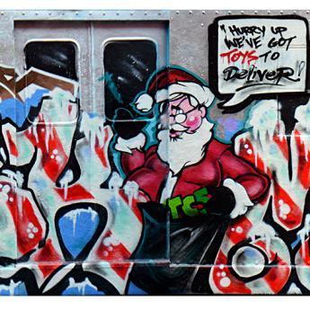 "TMT CHRISTMAS BATTLE CAR #6 :  STEM/SKEME/CHAIN3 ""MERRY DISS-MAS"""