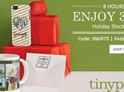 Tiny Print's One-Night Only Deal: Gifts $9.95 Express Shipping