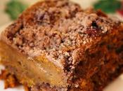 Vegan Pumpkin Coffee Cake with Pecans