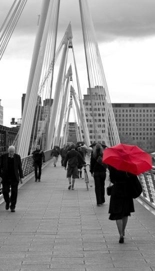 London red umbrella