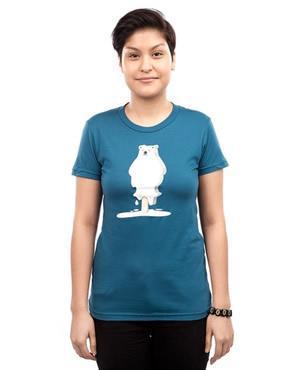 wwf-threadless-melting-tshirt