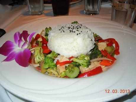 Awesome jasmine rice and veggies