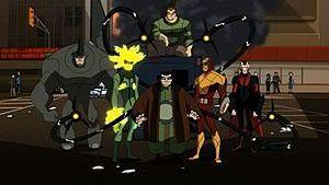 Picture of the original Sinister Six in the se...