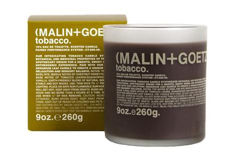 Malin + Goetz   Tobacco Scented Candle