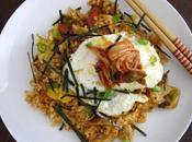 Kimchi Fried Brown Rice