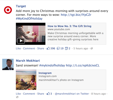 target my kind of holiday