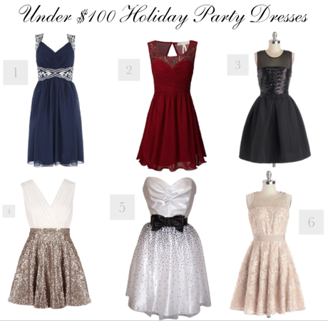 Holiday Dresses: Under $100