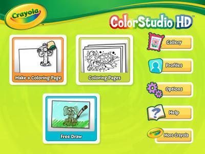 Crayola iMarker & Crayola ColorStudio HD App Review
