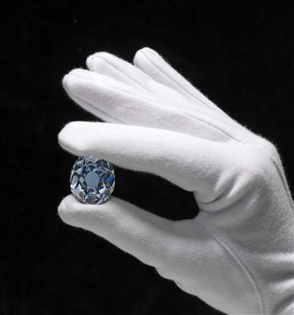 The blue wittlesbach diamond