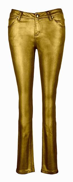 Metallic Jeans By It's My Life Jeans Co.