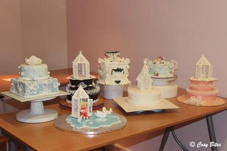 Royal Icing PME Course Cakes