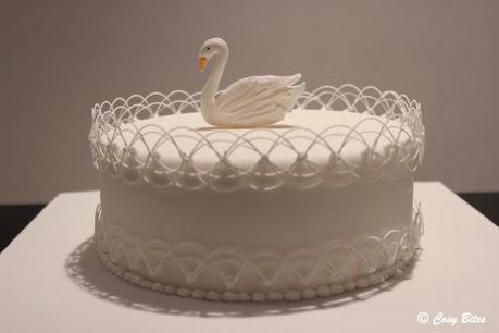 Royal Icing Cake with Swan