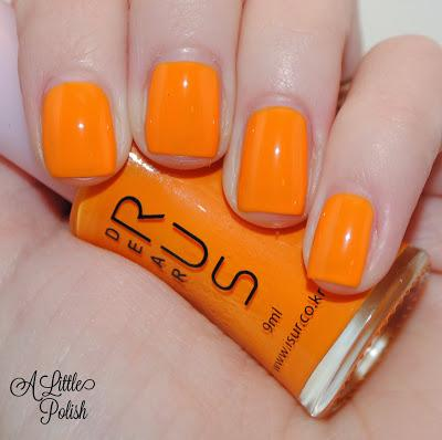 Dear Rus Marshmallow Polish - Swatches & Review