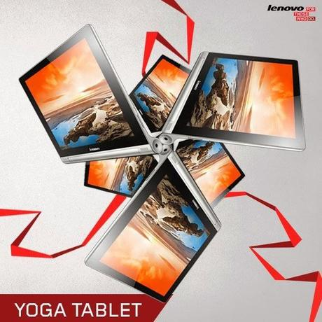 Life in a day with Lenovo Yoga Tablet