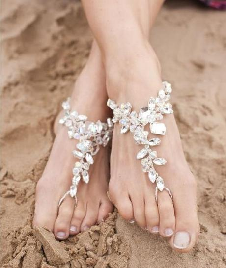 The Perfect Wedding Shoes For Your Dream Beach Wedding