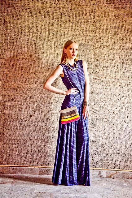 Chic Printed Jumpsuit By Ritu Kumar