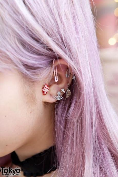 Style Tips Multiple Ear Piercings Paperblog