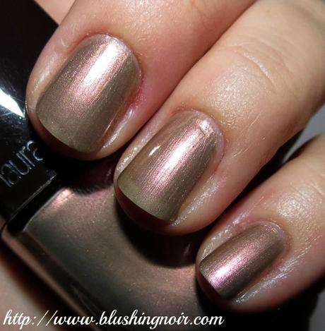 Laura Mercier Butterfly Wings Nail Polish swatches