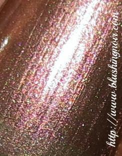 Laura Mercier Butterfly Wings Nail Polish Macro