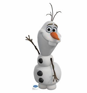 Running Outside in the Frozen Like Olaf