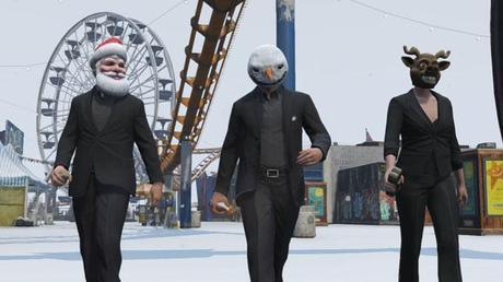 GTA Online Christmas festivities bring snow to Los Santos, seasonal masks & more