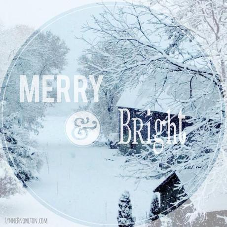 Wishing you a merry and bright WHITE #Christmas!