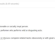 Using Google Smart Definitions
