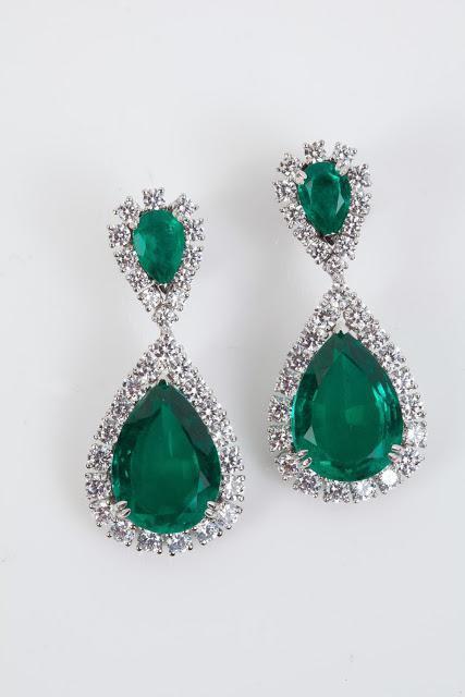 Sonal's Bijoux - Emerald Earrings