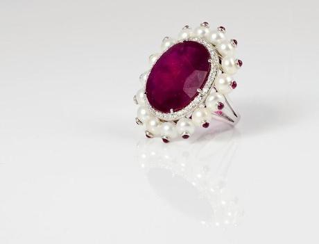 Sonal's Bijoux - Ruby Ring