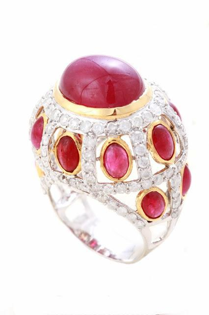 Sonal's Bijoux - Ring Made of Ruby