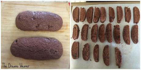 Double Dark-Chocolate and Ginger Biscotti - Paperblog