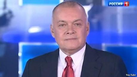 New RIA Novosti boss Dmitry Kiselev.