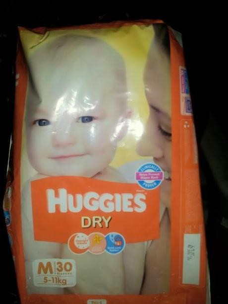 Huggies Dry Diapers (Small)