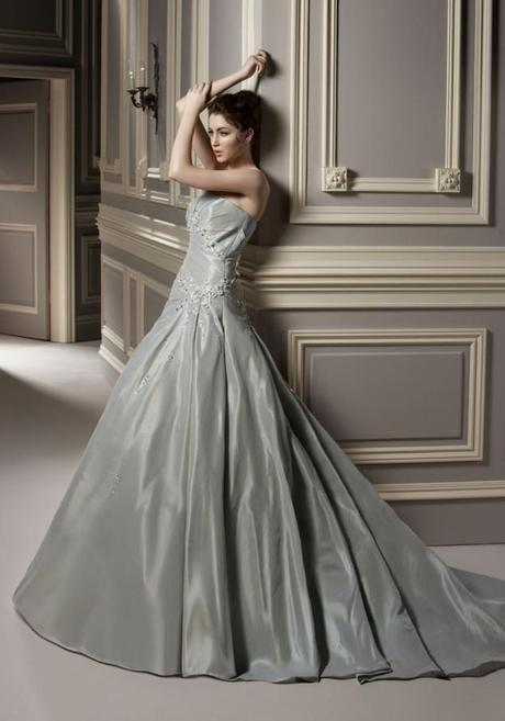 A fifty shades of grey wedding paperblog for Silver wedding dresses for sale