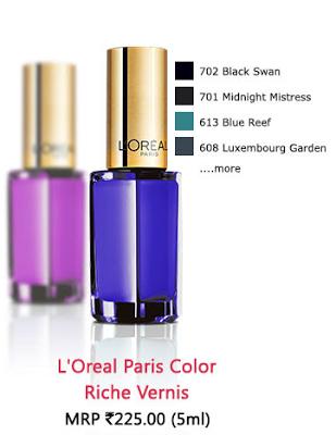 L'Oreal Parich Color Riche Vernis