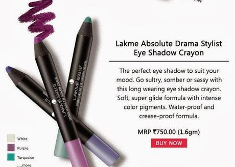 Buy Lakme Absolute Drama Stylist Crayon