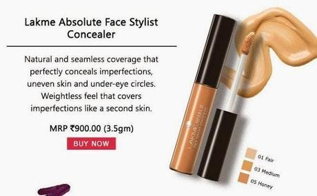 Buy Lakme Absolute Face Stylist Concealer