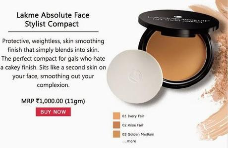 Buy Lakme Absolute Face Stylist Compact