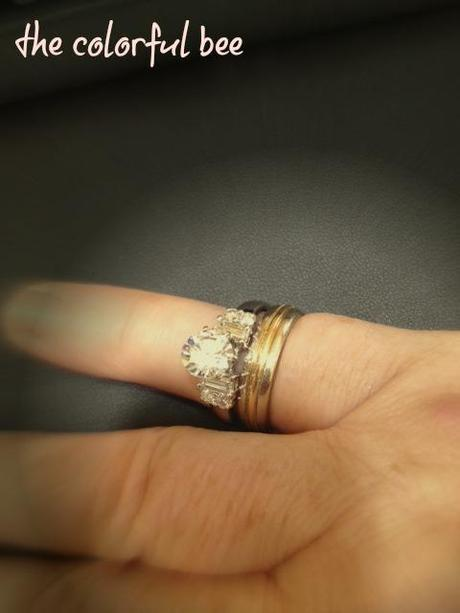 a new setting for an engagement ring