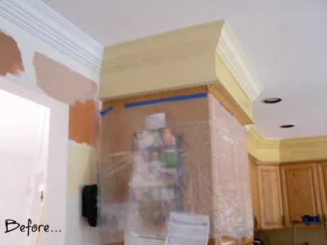 a kitchen revamp before
