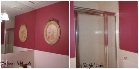 before picture of a powder room