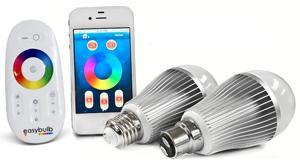 Smart Wi-Fi LED bulbs