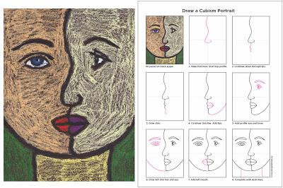 How to Draw a Cubism Portrait - Paperblog