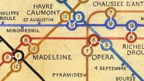 Beck's Paris Métro Map - icons of graphic design