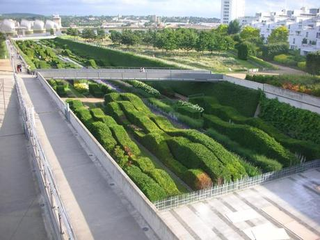 Thames Barrier Park, London - Planted Dry Dock