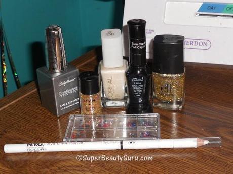 Nail Polish And Tools Supplies Glitter