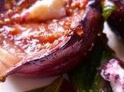 Grilled Honeyed Figs Labneh Cheese Salad (infused with Middle Eastern Flavours)