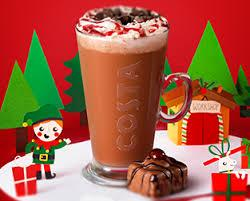 Costa Black Forest Hot Chocolate Review Happy New Year