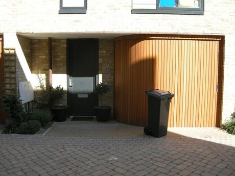 Accordia Cambridge Residential Development - Typical Mews Unit Entrance